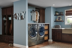 Homecrest Entry and Laundry Cabinets